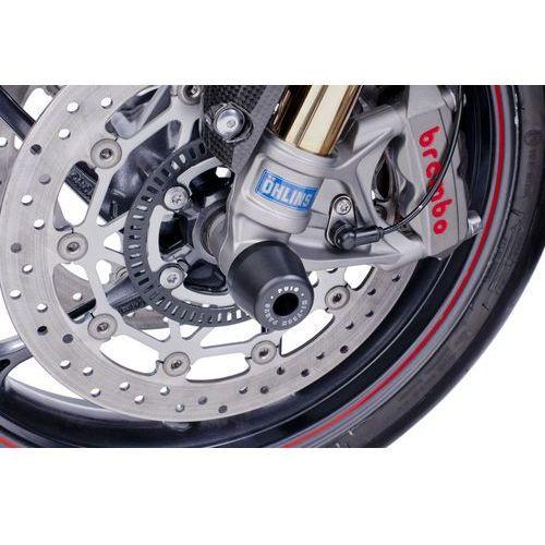Protektory osi koła przedniego PUIG do Triumph Daytona / Street i Speed Triple z kategorii crash pady motocyklowe