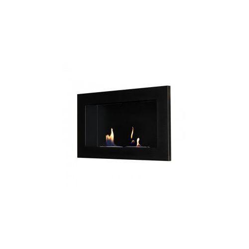 Biokominek dekoracyjny prostokątny 65x40 czarny Flat - EcoFire - oferta [056dd6aa0fe305dc]