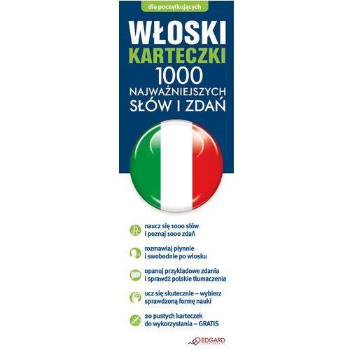 Włoski fiszki 1000 najważniejszych słów i zdań + CD-ROM - oferta [35654b74778585cc]