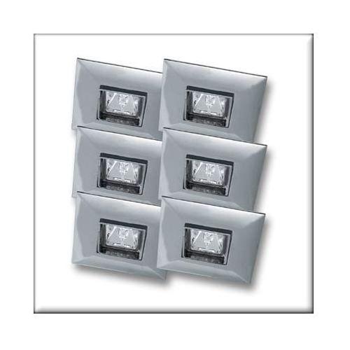 Paulmann Wysokogat. Oprawy wbudowywane Quadro, wychylne, chrom, 6x35W ( P99521 ) z kategorii oświetlenie