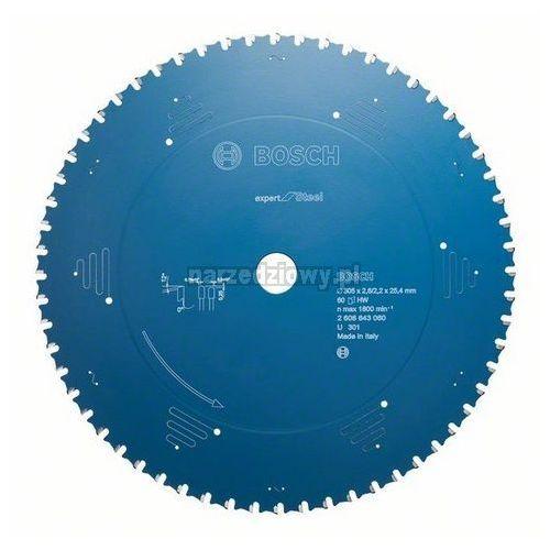 BOSCH Tarcza pilarska do metalu Expert for Steel, Średnica zewnętrzna (mm): 305, Średnica zewnętrzna (cal): 12, Liczba zębów: 60 ze sklepu narzedziowy.pl
