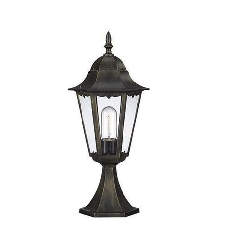 Lampa ogrodowa ZAGREB niska 1x100W Antyczne złoto MASSIVE 150224210, Massive