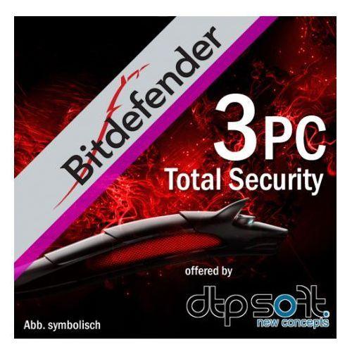BitDefender Total Security 2016 ENG 3 PC - oferta (657949700735265f)