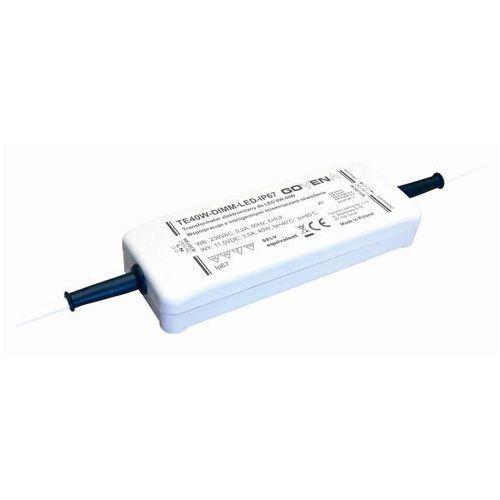 Transformator Elektroniczny do LED 0W-40W zasilator Govena TE40W-DIMM-LED-IP64 z kategorii Transformatory