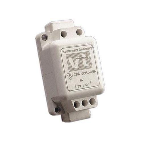 Transformator 1-fazowy dzwonkowy 0,5A T-90 Videotronic z kategorii Transformatory