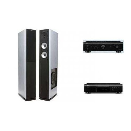 Artykuł DENON PMA-520 + DCD-520 + JAMO S626 BIAŁE z kategorii zestawy hi-fi