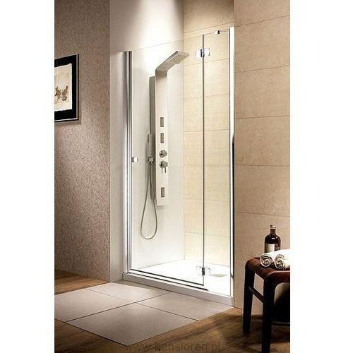 Fuenta DWJ Radaway drzwi wnękowe grafit 790-810*1950 prawa - 381012-05NR (drzwi prysznicowe)