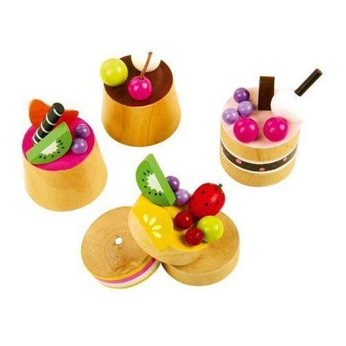 Ciasteczka z owocami (4 sztuki) - zabawka dla dzieci oferta ze sklepu www.epinokio.pl