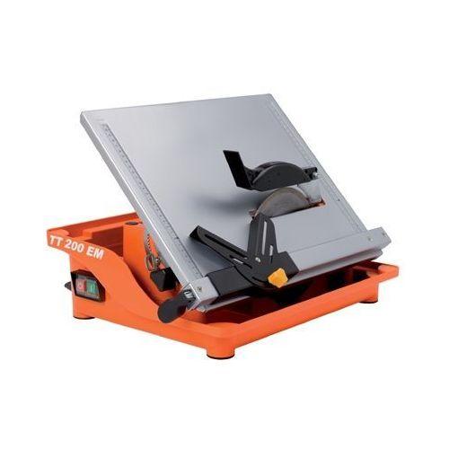 Produkt z kategorii- elektryczne przecinarki do glazury - PRZECINARKA DO GLAZURY TT 200 EM + KUFER TRANSPORTOWY