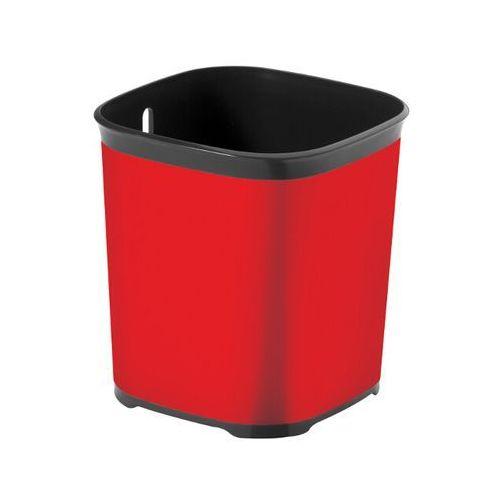 Ociekacz na sztućce DECO grafit/czerwony metal IML 213964 Curver - produkt z kategorii- suszarki do naczyń
