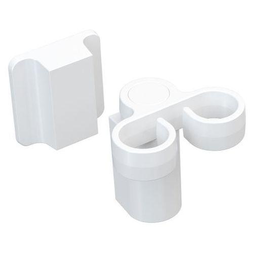 Uchwyt na szczotkę do mycia naczyń Magisso biały - produkt z kategorii- suszarki do naczyń