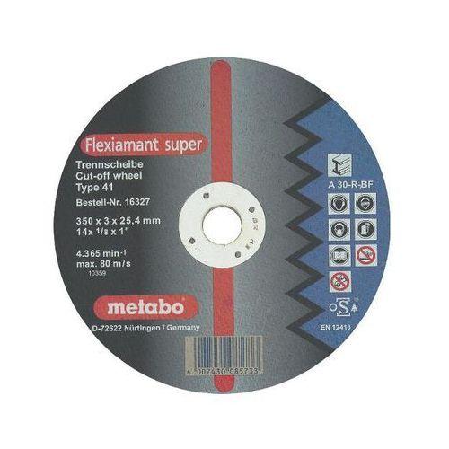 Tarcza tnąca Flexiamant super A 30-R 350x3x25,4mm do stali Metabo ze sklepu NEXTERIO