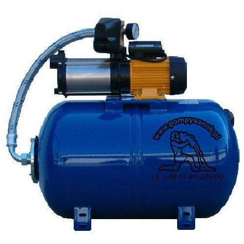 Towar z kategorii: pompy cyrkulacyjne - Hydrofor ASPRI 35 5 ze zbiornikiem przeponowym 80L