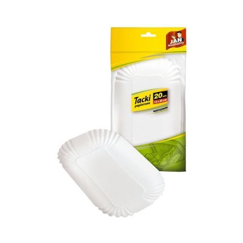 Tacki papierowe JAN NIEZBĘDNY 20 szt. - rabat 10 zł na pierwsze zakupy!, produkt marki Jan Niezbędny
