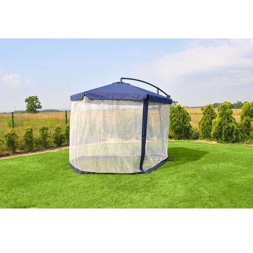 Oferta Malatec Parasol ogrodowy z moskitierą - niebieski [a571daabbfd3e39b]