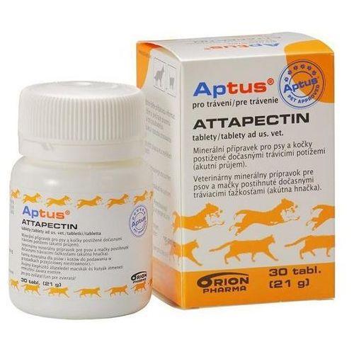 Artykuł ORION PHARMA Aptus Attapectin tabletki przeciwbiegunkowe dla psów i kotów z kategorii witaminy dla psów