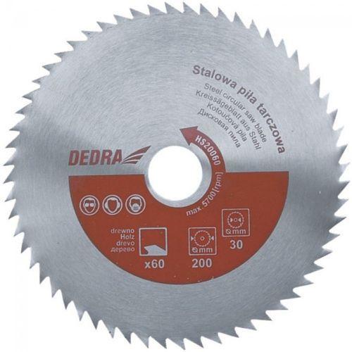 Tarcza do cięcia DEDRA HS50080 500 x 30 mm do drewna ze sklepu Media Expert
