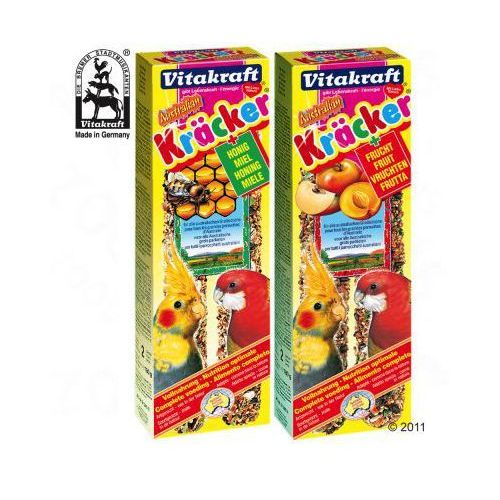 Krakersy dla papug - Miód i eukaliptus