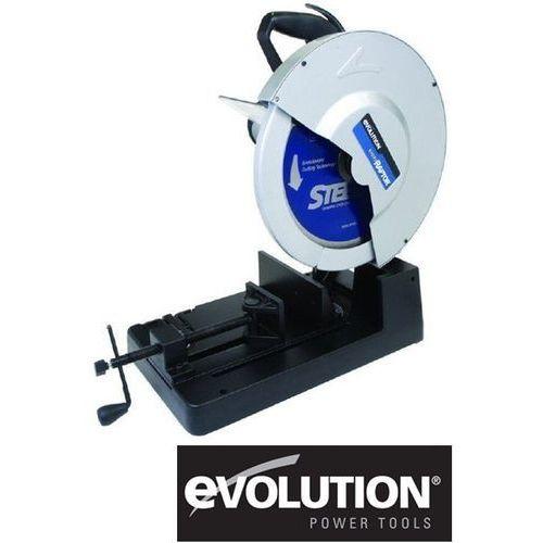 Produkt z kategorii- elektryczne przecinarki do glazury - EVOLUTION Przecinarka do cięcia stali tarczami z węglików spiekanych 355 mm (EVO355 RAPTOR)
