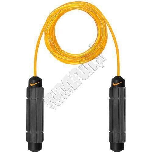 Skakanka treningowa -  Speed Rope 2.0, kolor: czarny/pomarańczowy, produkt marki Nike