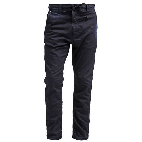 Replay HYPERFREE Jeansy Relaxed fit black/blue - produkt z kategorii- spodnie męskie