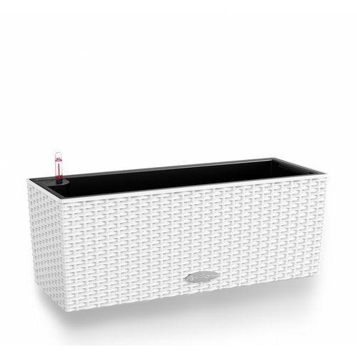 Donica  BALCONERA COTTAGE - biała - 50 x 19 x 19 cm - biały, produkt marki Lechuza
