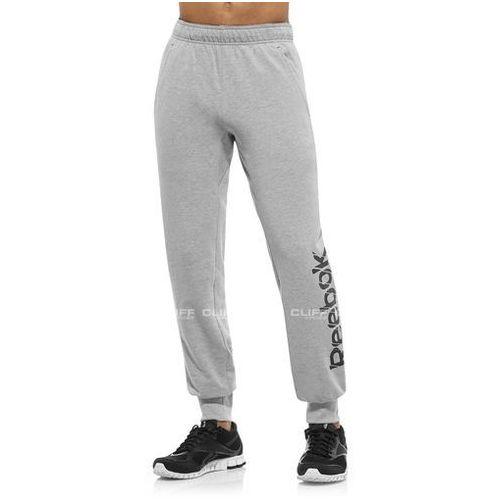 SPODNIE REEBOK CUFFED FT PANT MEGHRE - produkt z kategorii- spodnie męskie