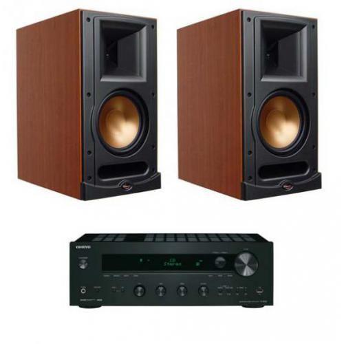 Artykuł ONKYO TX-8050 + KLIPSCH RB61 CHERRY z kategorii zestawy hi-fi