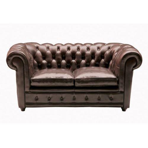 Kare Design Oxford Designer Sofa 2-osobowa Skóra Naturalna 160x95 cm (71673), Kare Design