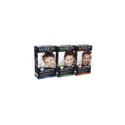 Produkt z kategorii- pozostałe kosmetyki do włosów - Marion Men 4 stopniowy Reduktor Siwizny