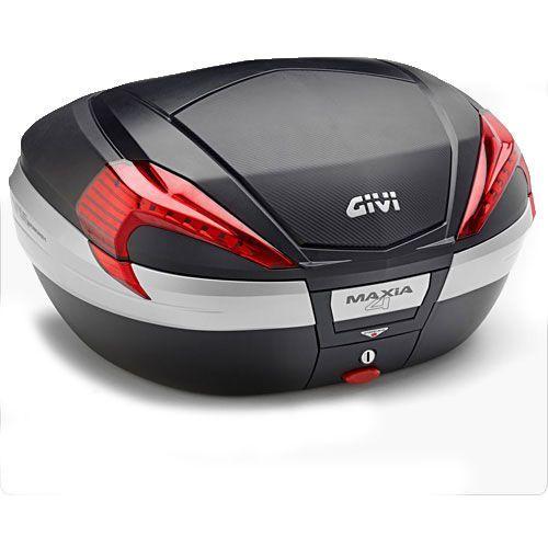 Kufer Givi V56NN Maxia 4 (czarny, 56 litrów, czerwone odblaski, pokrywa karbonowa) - oferta [25a14876c765455a]