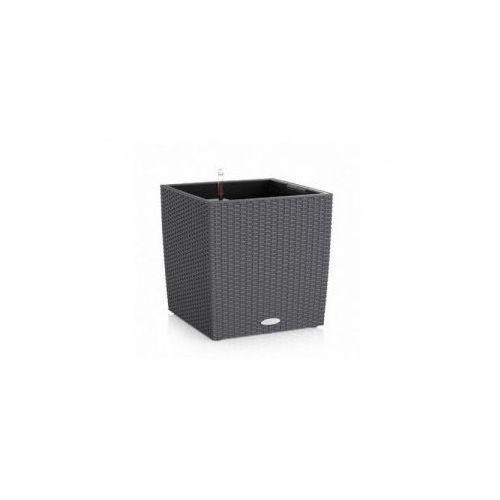 Produkt Donica -  - Cube Cottage 50 - granitowa, marki Lechuza