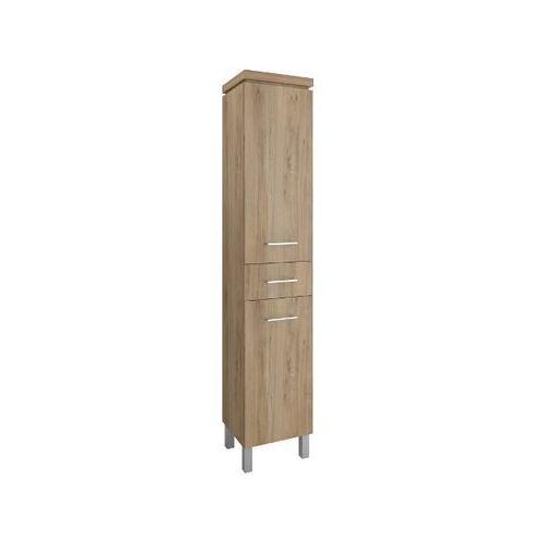 Słupek łazienkowy OLIVIA orzech S543-013-DSM Cersanit - produkt z kategorii- regały łazienkowe