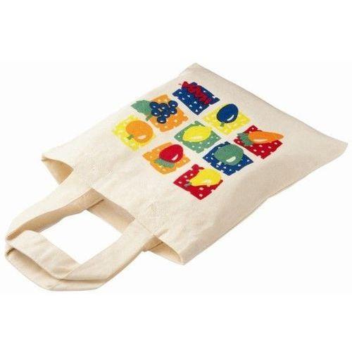 Lniana torba na zakupy oferta ze sklepu www.epinokio.pl