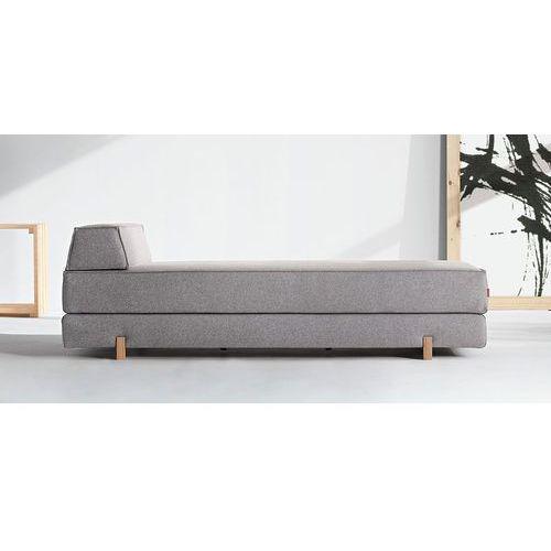 Istyle Idouble Sofa Rozkładana, szara tkanina 653, poduszka - 745058002653
