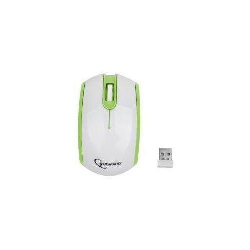 Mysz bezprzewodowa Radio-Opto 2.4GHz MUSW-105-G Green/White z kategorii Myszy, trackballe i wskaźniki
