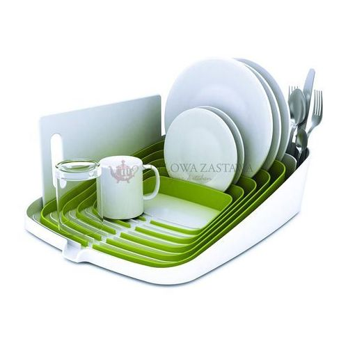 Suszarka do naczyń ARENA, biało-zielona Joseph Joseph - produkt z kategorii- suszarki do naczyń