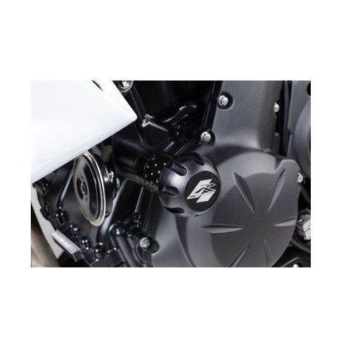 Puig y Kawasaki ER6N; 2009-2011 (czarne) | TRANSPORT KURIEREM GRATIS z kat. crash pady motocyklowe
