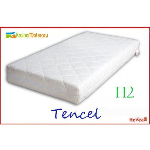 Materac Lateksowy HEVEA COMFORT H2 200x160 POKROWIEC TENCEL + Materac Turystyczny Gratis !!, produkt marki Hevea