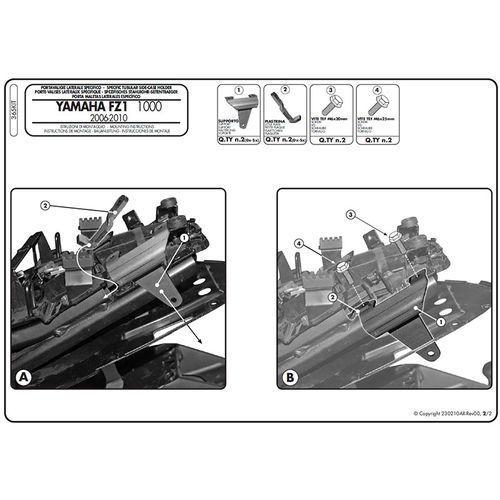 Artykuł Zestaw mocujący 365KIT z kategorii pozostałe akcesoria motocyklowe