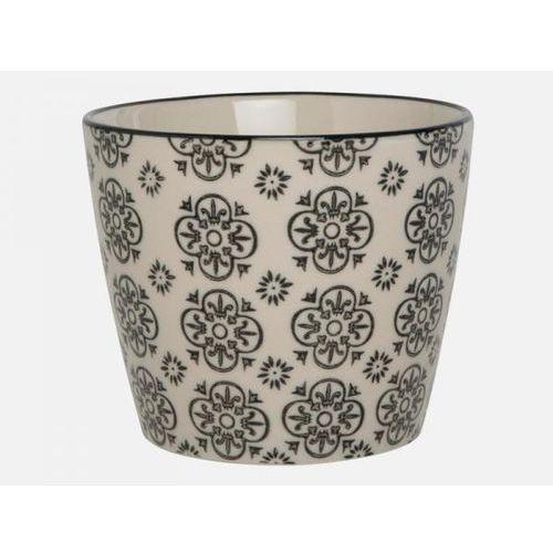 Doniczka Casablanca ze wzorem kwiatowym  1568-99-2, produkt marki Ib Laursen