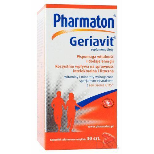 Pharmaton Geriavit kaps. - 30 kaps., postać leku: kapsułki
