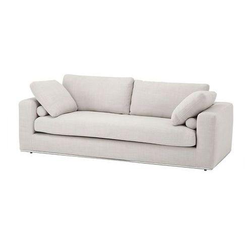 EICHHOLTZ Atlanta Sofa Kremowa Tkanina - 08321