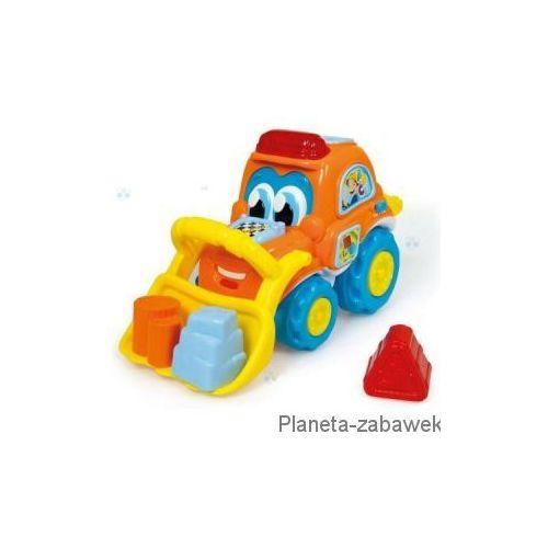 JANEK GADAJĄCY SPYCHACZ INTERAKTYWNY POJAZD X - produkt dostępny w Planeta-zabawek.com.pl