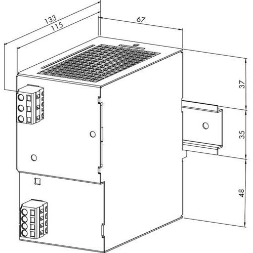 Zasilacz na szynę DIN WAGO 787-622 787-622, 24 V/ DC (SELV) z kategorii Transformatory