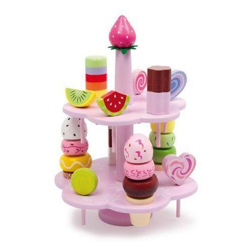 Etażerka słodkości - zabawka dla dzieci oferta ze sklepu www.epinokio.pl