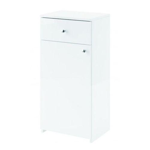 AQUAFORM szafka niska Maxi II biała (półsłupek) 0411-260100 - produkt z kategorii- regały łazienkowe