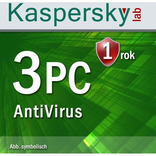 Kaspersky Antyvirus 2016 3 PC ESD - oferta (05a4daa1ffa305fc)