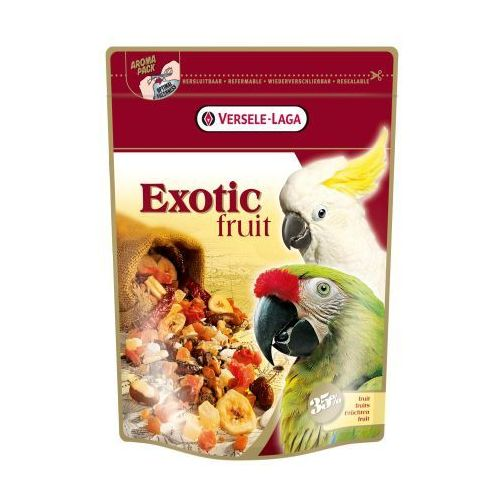 VERSELE LAGA - EXOTIC FRUIT MIX - OWOCOWY MIX DLA PAPUG - 600g, Versele Laga