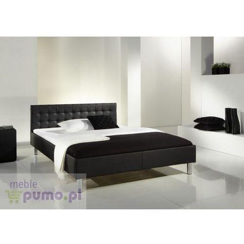 Eleganckie łóżko FANATIC - czarny ze sklepu Meble Pumo
